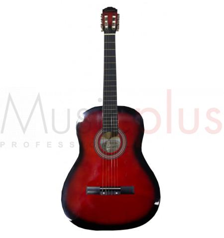 Tenson - SO-100 RB, Guitare Classique 4/4 Sonata Series, Redburst