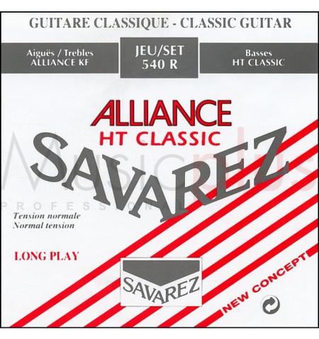 Cordes guitare classique Tomatito 4e Rouge Tirant Normal