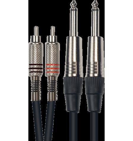 Manax C/âble de Haut-Parleur 2/x 0,75/mm/² Box C/âble//C/âble Audio CCA